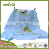 Wholesale hot sale Custom Made Printing Cotton Gauze Bath Towel For Baby