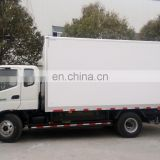 CNG refrigerated truck and freezer box with top quality
