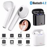 Wireless Headset Earphone Headphones For iPhone 6 7 8 Plus X Android