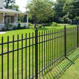 Wrought Iron fence/ decorative fence/ ornamental fence/cast iron fence