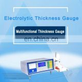 Electrolytic Thickness Gauge for plating on ceramic/plastic/iron/aluminum