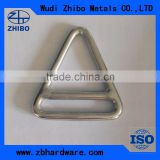Stainless Steel Materal Rigging Hardware Triangle Ring with Cross Bar Manufacturer In China                                                                         Quality Choice