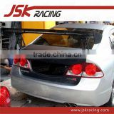 V STYLE CARBON FIBER SPOILER WING/FOR HONDA CIVIC SPOILER/FOR CARBON CIVIC WING FOR 2006-2009 HONDA FD2 4D (JSK121056)