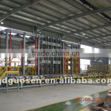 Machinery line for particle board