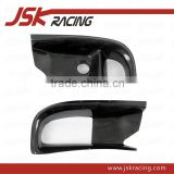 FOR MITSUBISHI EVO 9 CARBON FIBER FRONT BUMPER AIR DUCTS FOR MITSUBISHI LANCER EVOLUTION EVO 9 RALLIART (JSK200604)