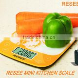 High precision strain gauge sensor kitchen scale