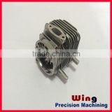 customized alu or zamac die casting spare parts for air compressor