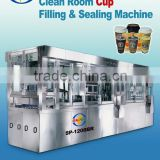 Automatic food tray sealing machines