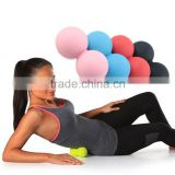 High Quality 100% Natural Rubber Double Lacrosse Ball                                                                         Quality Choice