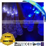 battery 20L crystal pillar led fairy light for indoor decoration