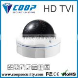 2015 New Products HD TVI 1080P Monitor System Vandproof Camera True D&N 30M IR Motion Detection CCTV Dome Camera
