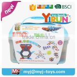 JM022456 yirun diy toys math magnetic puzzle for kids islamic gift