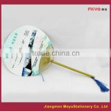 2015 Commercial Decorative Art handmade Hand Fan for sales advertising                                                                         Quality Choice