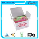 Customized printed paper box color drinking straw                                                                                                         Supplier's Choice