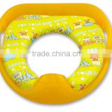 PM2399 2015 China Wholesale for baby toliet training kids Potty Seat with Handle and Plastic Backing
