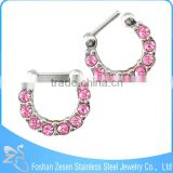 2015 fashion New Arrival Alloy Nose Hoop Nose Body Jewelry
