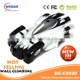 USA hot sale rc mini hot wheels toy cars wall climbing cars working headlights also act as charge level indicators