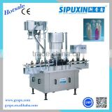 Sipuxin plastic bottle glass jar screw capping machine