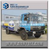 dongfeng 4*2 5000L 6000L 7000L high pressure cleaning truck washing truck