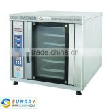 Industrial food production 5 trays hot air automatic bakery bread maker oven machine prices
