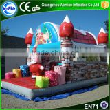 Adult bounce house jumper bouncy castle inflatable christmas bounce house for party decorations