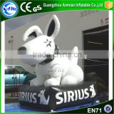 Cheap factory price inflatable dog decoration giant inflatable dog                                                                                                         Supplier's Choice