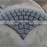 best price natural cobblestone quartz driveway mesh paver