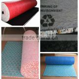hotels laminate waterproof carpet underlay