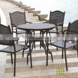 Cheap Coffee Shop Cast Iron outdoor table and chair                                                                         Quality Choice