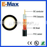 Coax Cable RG59 CCS For Broadcast wire and cable machinery
