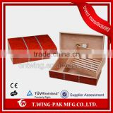 Manufacturers wooden electric cigar humidors case