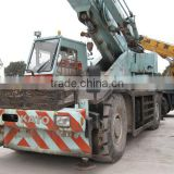 used Kato 50T rough terrain crane, best working quality produced by Japan,diesel truck crane