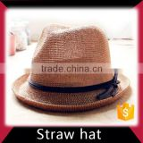 Wholesale kids cowboy straw baseball cap