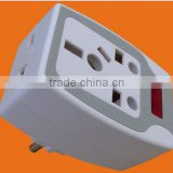 European Style 2 round pin AC Power Adaptor with Earth with Fuse (P7035)