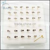 925 sterling silver nose stud pins