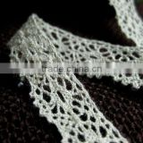 2013 crochet narrow cotton torchon lace 1.5cm/15mm, widely used in home textile - storage bag