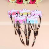 Child Ponytail Wigs Hairpin Lace Hair bow clip hairpin for kid