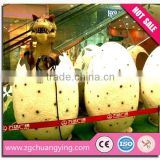 Shopping center of children's play play glass fiber/glass fiber reinforced plastic shell doll