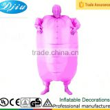 DJ-CO-143 Adult Chub Suit Inflatable masked Fancy Dress Costume Sumo Suit & Second Skin Mask                                                                         Quality Choice