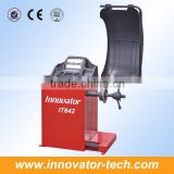 Automatic wheel balancing machine price for balancing tire CE approve model IT642                                                                         Quality Choice