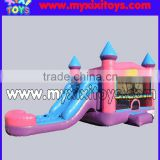 small backyard inflatable combo bouncer with slide xixi toys                                                                         Quality Choice