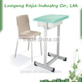New school furniture student desk Handle adjustable student desk and chair sets 2014 wholesale student chair school furniture