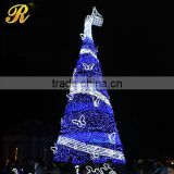 Outdoor big Christmas tree artificial garland Christmas tree                                                                         Quality Choice