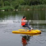 HEITRO one seat dolphin type aqua bike one person paddle boat                                                                         Quality Choice