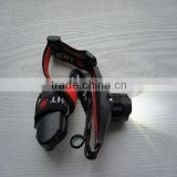 Hot wholesale superbright Cree XPR R3 with waterproof palstic pack led headlight for fishing\working\exploration