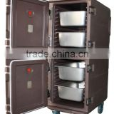 Hotel use insulated cabinet, Food transportation cabinet, double layer food pan carrier