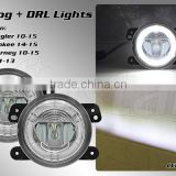 Round 4inch LED Fog Light for Jeep Wrangler LED J Series Fog Light Cherokee/Grand Cherokee/ For Dodge Junrney/ For Charger