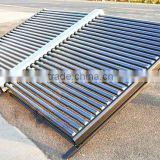 50 tubes evacuated tube solar collector, non-pressurized solar collector, solar thermal heating element
