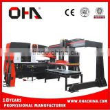 "OHA"" Brand AFM-1250 manufacturing cnc punching machine hydraulic punch press with Amada tools turret punching Fanuc control"