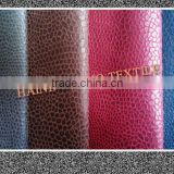 95%Polyester 5%PU Snake Skin Printing Suede Fabric for sofa fabric/upholstery/Curtain/car